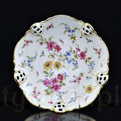Porcelanowa paterka na słodycze owoce lub bakalie
