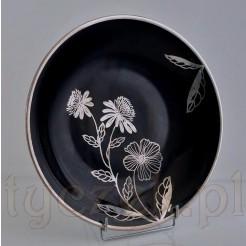 Ekskluzywna porcelana KPM okuwana srebrem