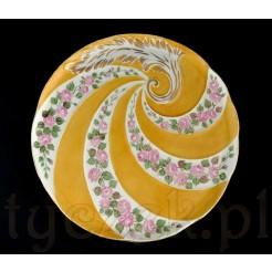 Włoska porcelana ręcznie zdobiona