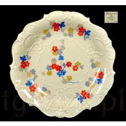 Znakomita patera ze śląska - porcelana Tiefenfurt