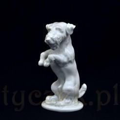 figurka psa z pierwszej połowy XX wieku terrier
