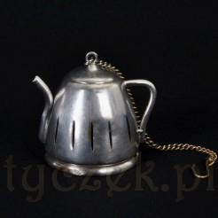 Zaparzacz do herbat i ziół - zabytkowy imbryczek