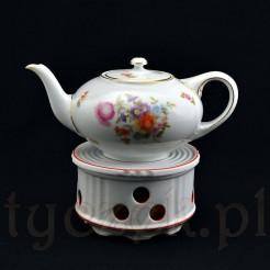 Idealnie posłuży do podgrzewania czajnika z herbatą, kawą- sprzedawany bez dzbanka