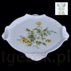 Przedwojenna porcelana CT Tielsch - Altwasser -kolekcjonerska podstawka