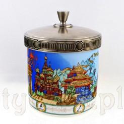 Duża porcelanowa herbaciarka