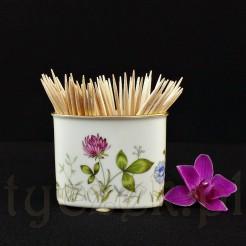 Pojemnik z porcelany na wykałaczki