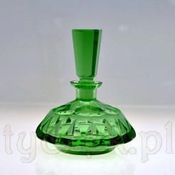 Przepiękny szklany flakonik na perfumy