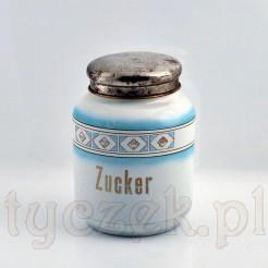 Zabytkowy pojemnik na cukier