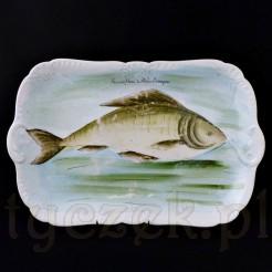 Pamiątka z Mikuliczyna - huculska malatura na porcelanie