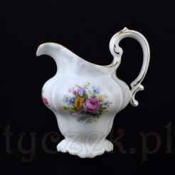 Przepiękny porcelanowy mleczni z kolekcji Pompadour