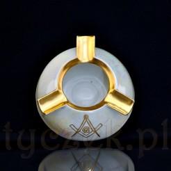Wyrób ręcznie dekorowany na zamówienie loży masońskiej
