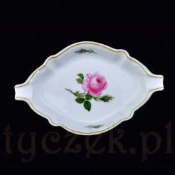 Porcelanowa popielniczka znakomitej wytwórni