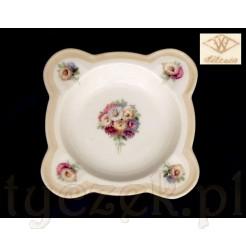 Popielniczka ze śląskiej porcelany Tillowitz