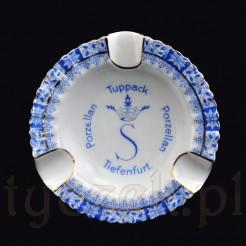 Znakomity sląski antyk z markowej porcelany S Tuppack Tiefenfurt