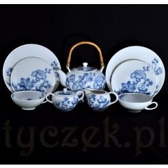 Porcelanowy serwis do herbaty z porcelany Bavaria