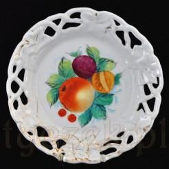 Kolekcjonerski talerz ekspozycyjny z XIX wiek