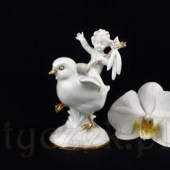 Stylowa porcelanowa figurka marki Carl Scheidig Grafenthal.