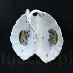 Kolekcjonerski eksponat z cennej porcelany