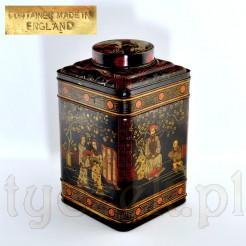 Puszka na herbatę w orientalnym stylu
