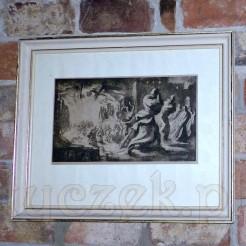 Dzieło sygnowane i datowane ołówkowym podpisem: Raimund Ondráček. 1943.
