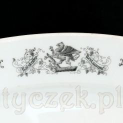 Gryf pomorski - logo restauracji ratuszowej w dawnym Stettin