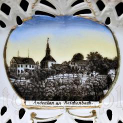Andenken an Reichenbach antyczna pamiątka dziś Dzierżoniów
