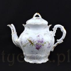 Stylowy dzbanek do parzenia i serwowania herbaty