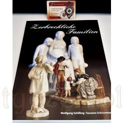 Rodzina w sztuce i porcelanie album Zerbrechliche Familien