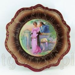 Romantyczny talerz ścienny
