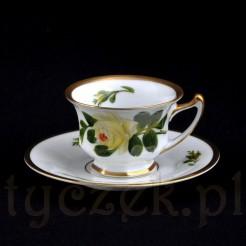 Klasycznie piękna porcelanowa filiżanka do mokki ROSENTHAL