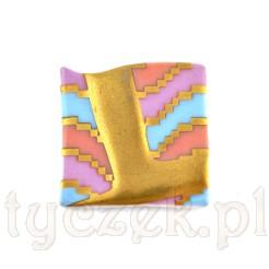 Ponadczasowa brosza z markowej porcelany Rosenthal
