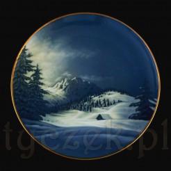 Zimowy talerz marki Rosenthal