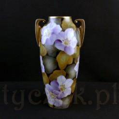 Tułowicki wazon porcelanowy