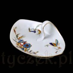 Finezyjna porcelanowa paterka do serwowania konfitur RS Tillowitz