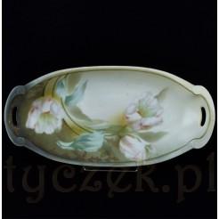 Piękne tulipany zdobią szlachetną porcelanę RS Tillowitz