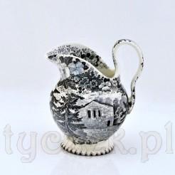 Zabytkowy mlecznik Schramberg - pięknie zdobiony antyk