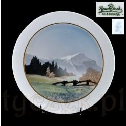 zabytkowy talerz ścienny sygnowana porcelana Rosenthal