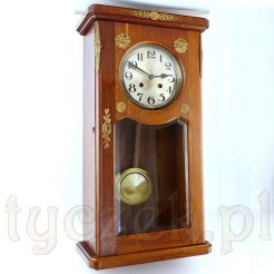 Luskusowa elegancja klasycznego zegara wiszącego