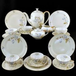 Porcelanowy serwis do kawy i herbaty