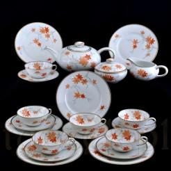 Kompletny serwis do herbaty dla 6 osób porcelana Bavaria