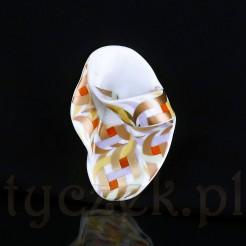 Rosenthal Studio Linie - ekstrawagancka brosza z porcelany.