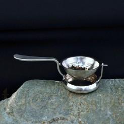 Platerowane sitko do parzenia herbaty