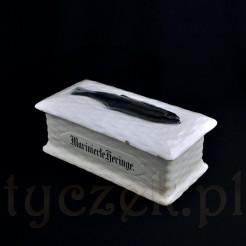 ceramiczny pojemnik na śledzie marynowane
