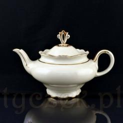 Prawdziwy okaz dla zbieraczy fasonu KAVALIER: herbaciany dzbanek