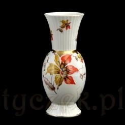 Ekskluzywny wazon z żarskiej porcelany sygnowanej rzadkim znakiem