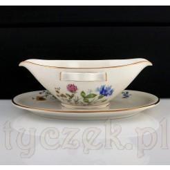 Wyjątkowa porcelanowa sosjerka z kolekcji ŁĄCZKA