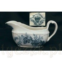 Stara porcelana z Angli - sosjera Semi Porcelain