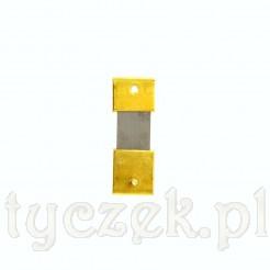 Sprężynka zawieszki wahadła zegara ściennego lub kominkowego