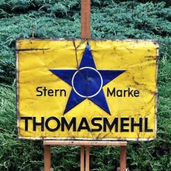 Stern Marke zabytkowa tablica blaszana
