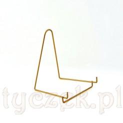Ekskluzywny stojak w kolorze złotym